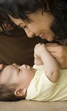 宝宝第一次喊:妈妈,我爱你!